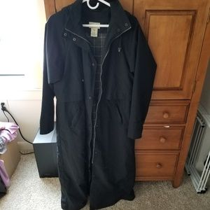 LL Bean H2OFF Raincoat w/removable liner